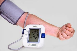 High blood pressure monitor